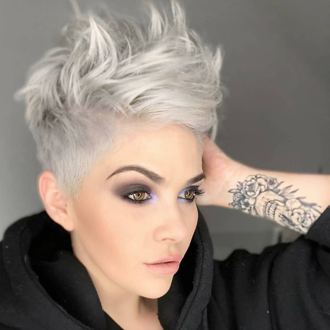 top 10 most flattering pixie haircuts for women, short hair styles 2019