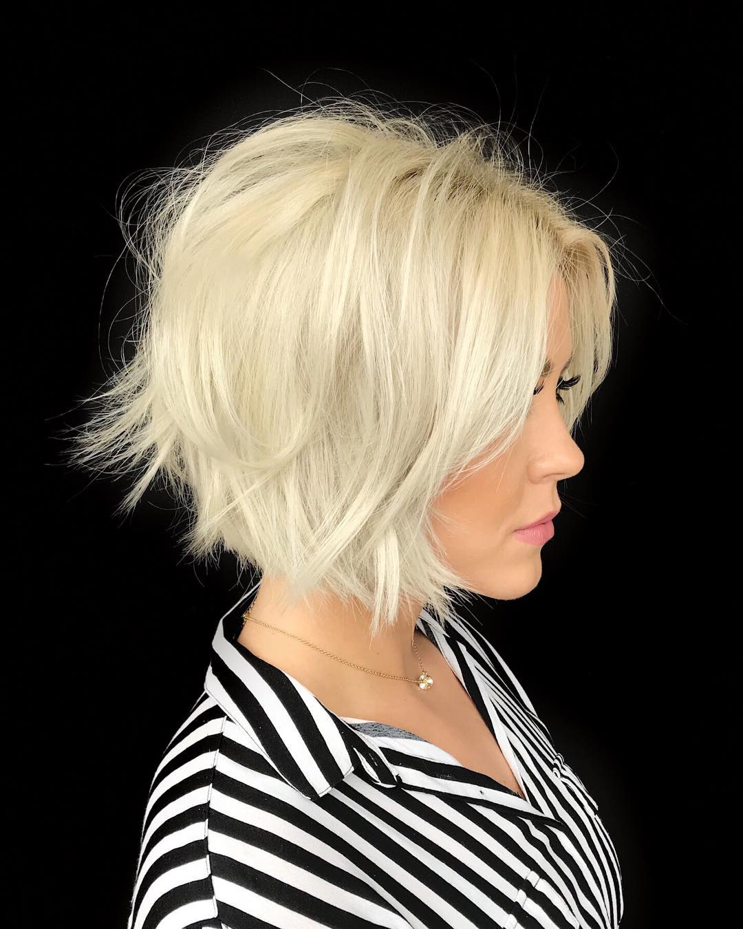 Top 22 Best Short Bob Hairstyles for Summer, Short Haircuts 22