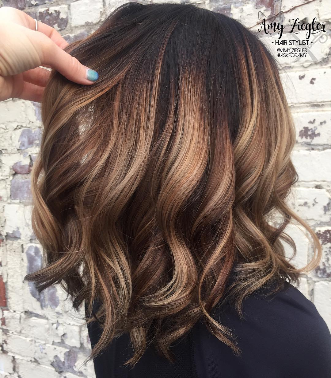 10 Trendy Brown Balayage Hairstyles For Medium Length Hair