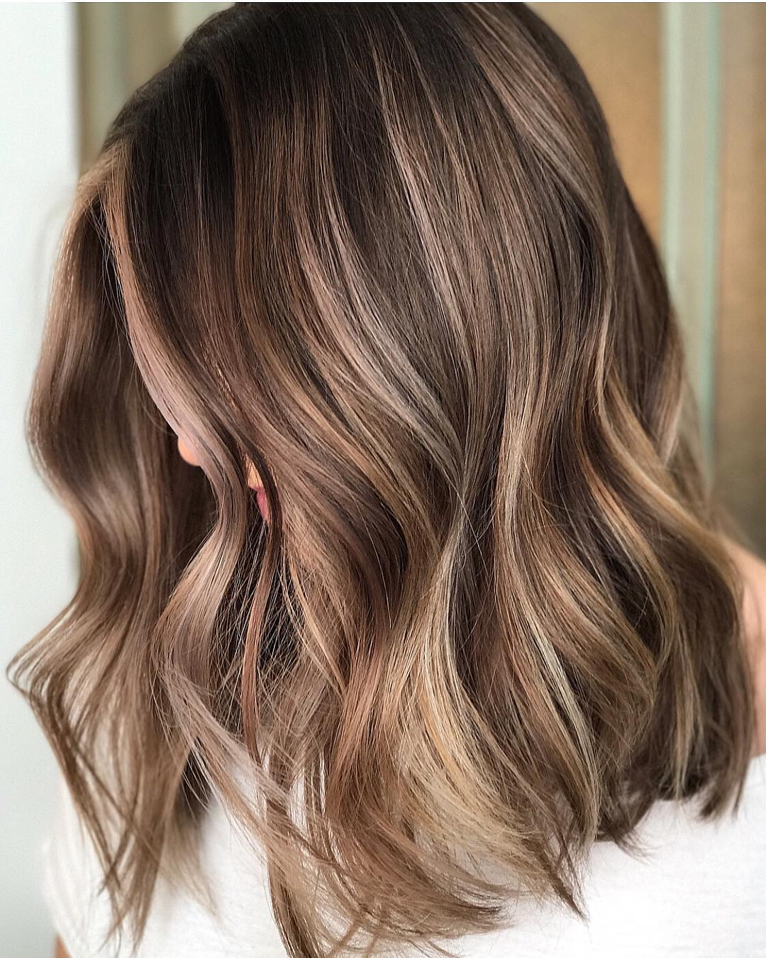 Balayage brown hair what is it
