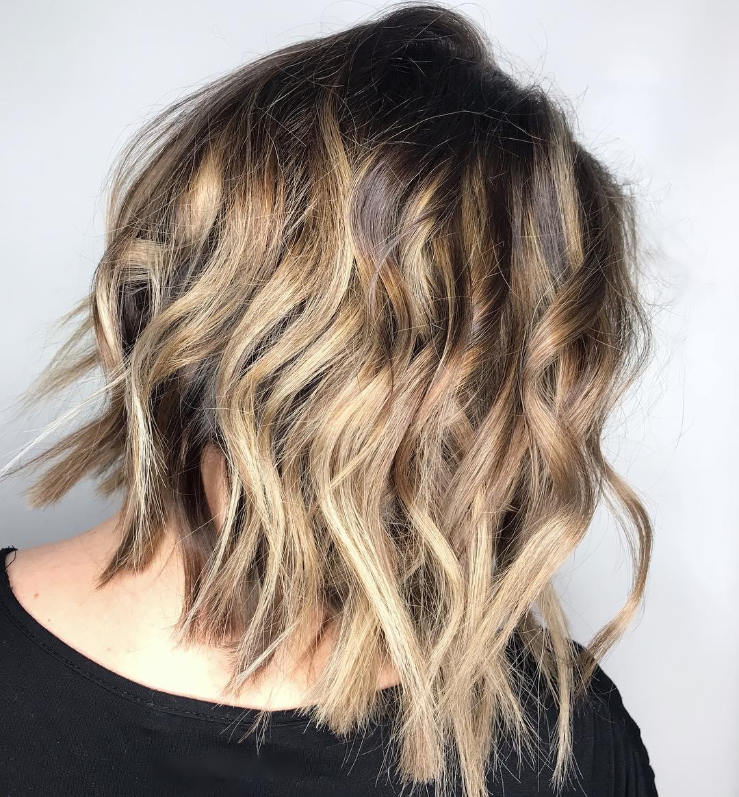 Best Brown Balayage Hair Designs for Medium Length Hair
