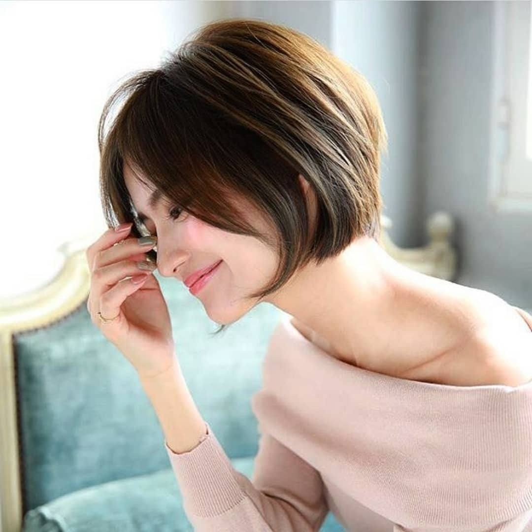 10 Cute Short Hairstyles and Haircuts for Young Girls, Short Hair 2019