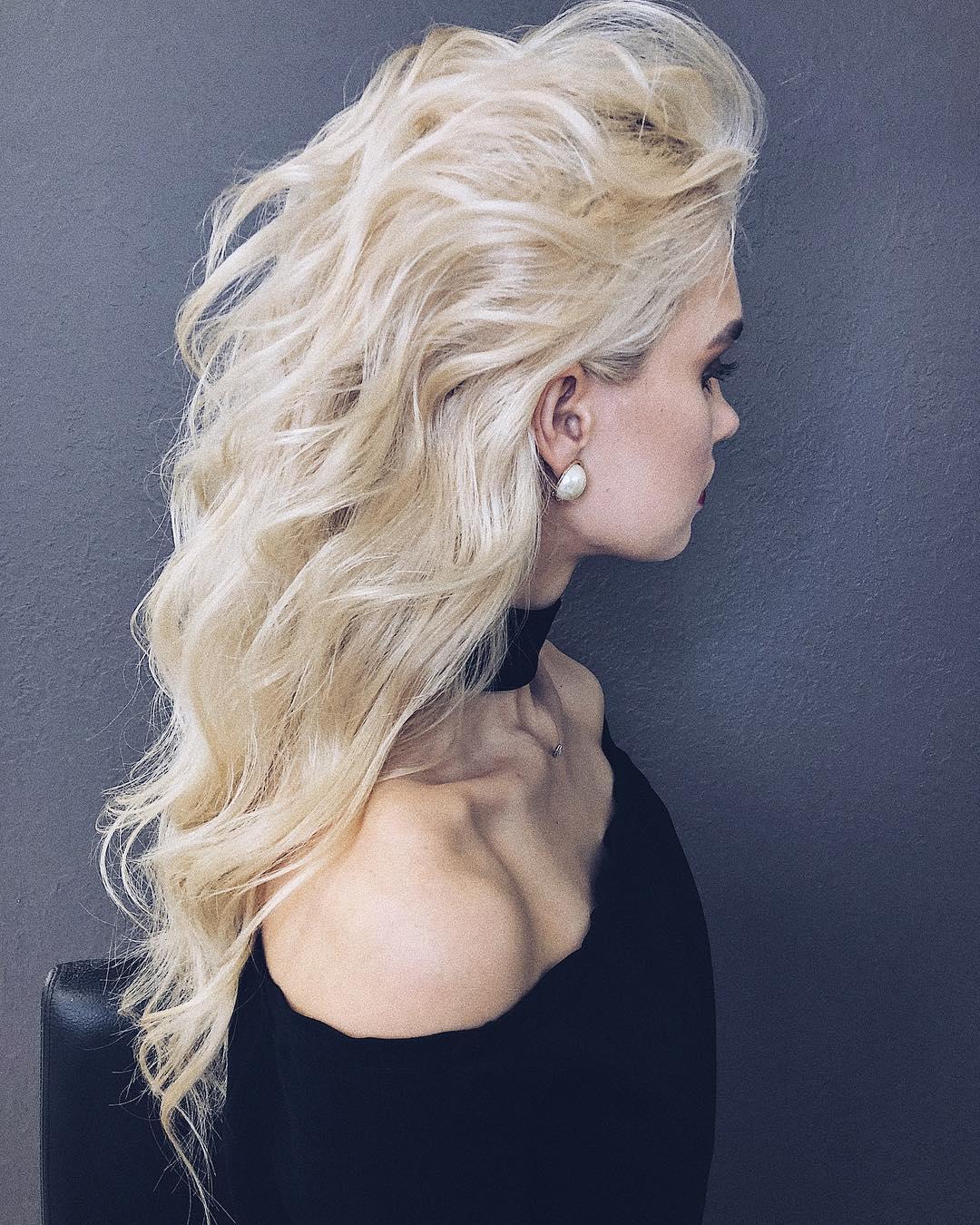 10 wunderschöne lange wellige Perm Frisuren