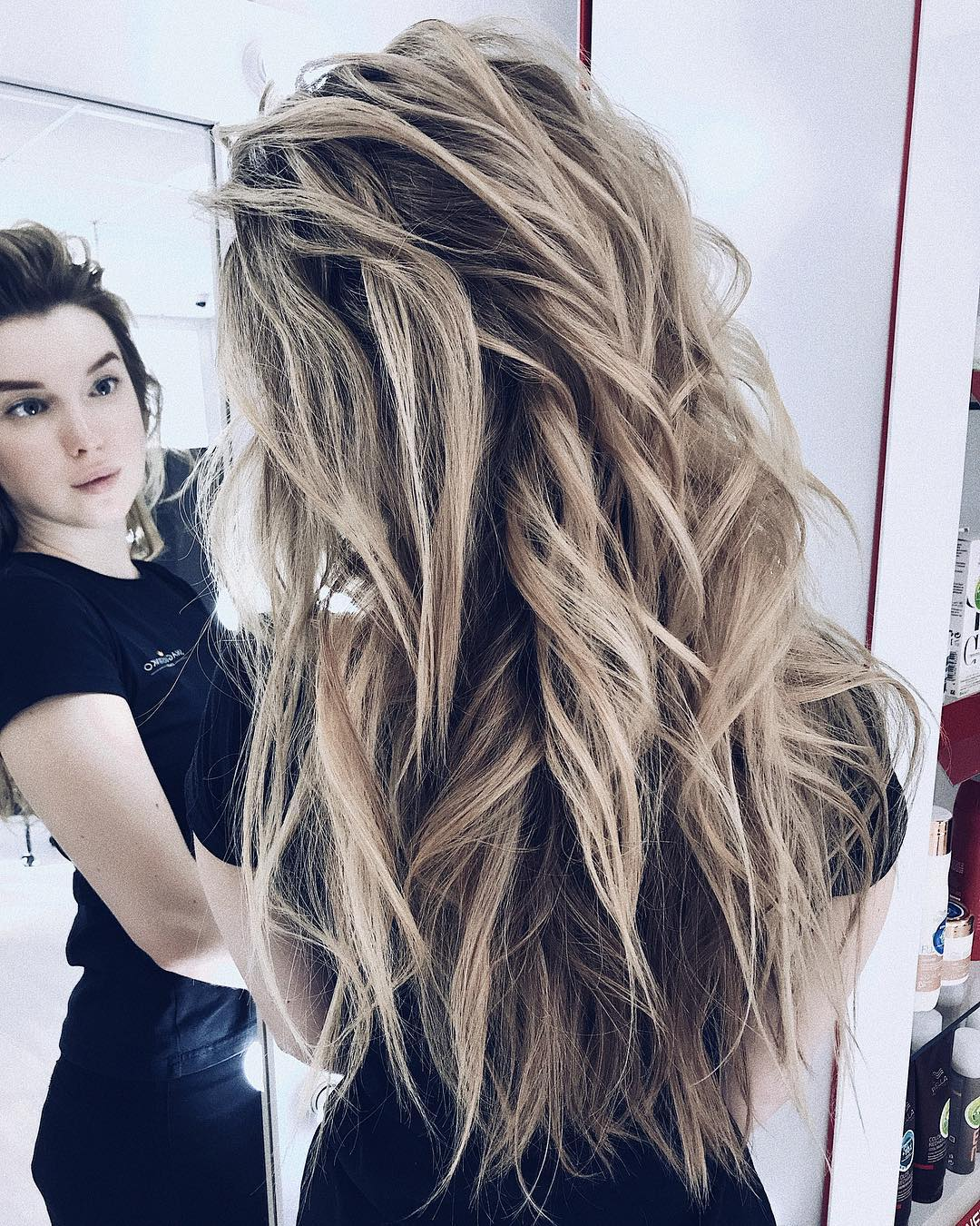 10 Gorgeous Long Wavy Perm Hairstyles, Long Hair Styles 2019