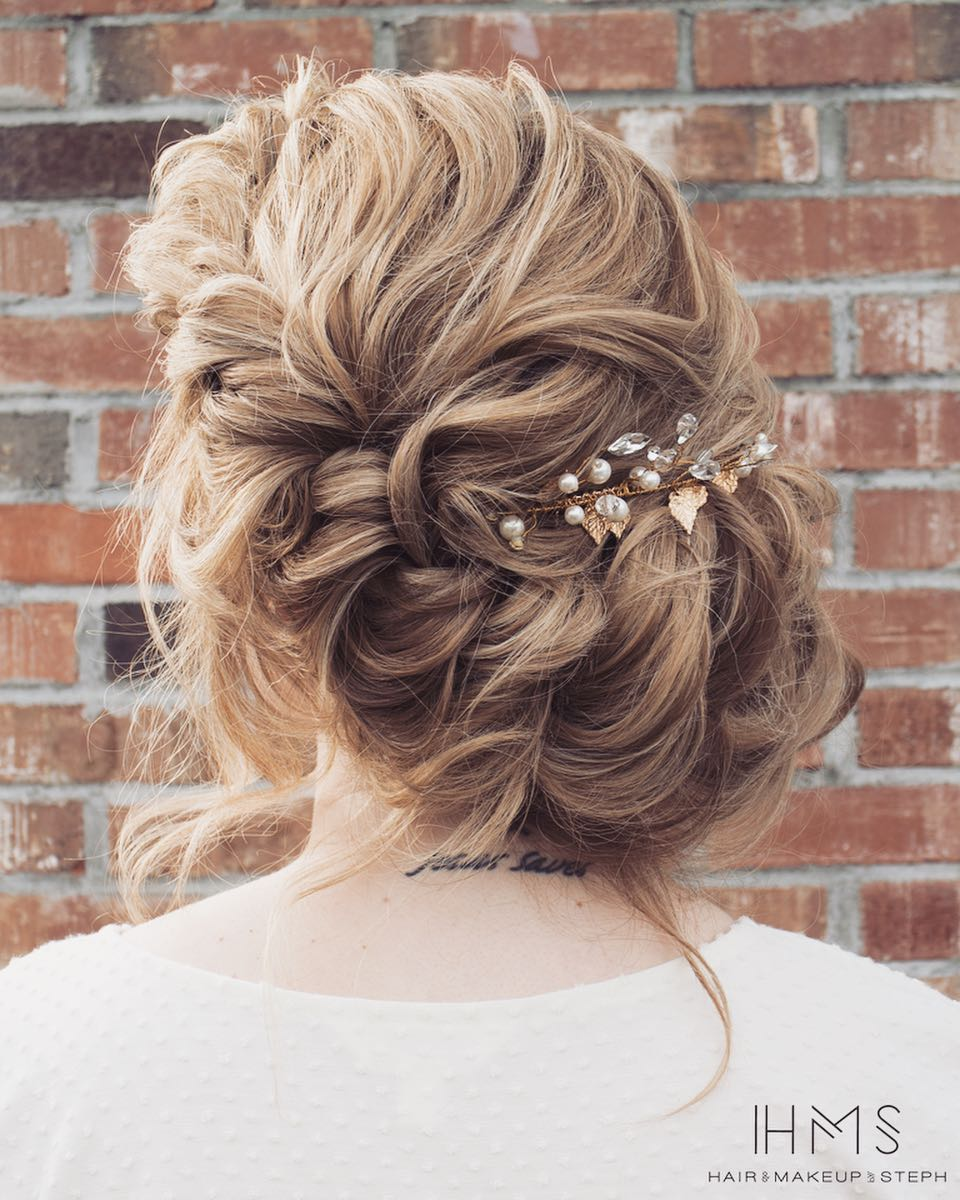 20 Inspiring Wedding Hairstyles From Steph On Instagram: 10 Gorgeous Prom Updos For Long Hair, Prom Updo Hairstyles