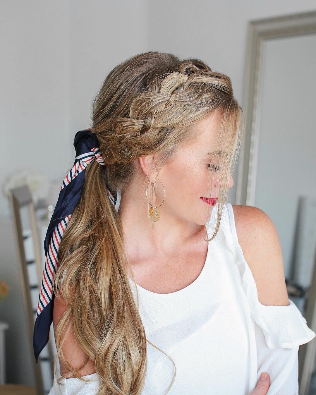 10 Kreative Pferdeschwanz Frisuren Fur Langes Haar Sommer Frisuren