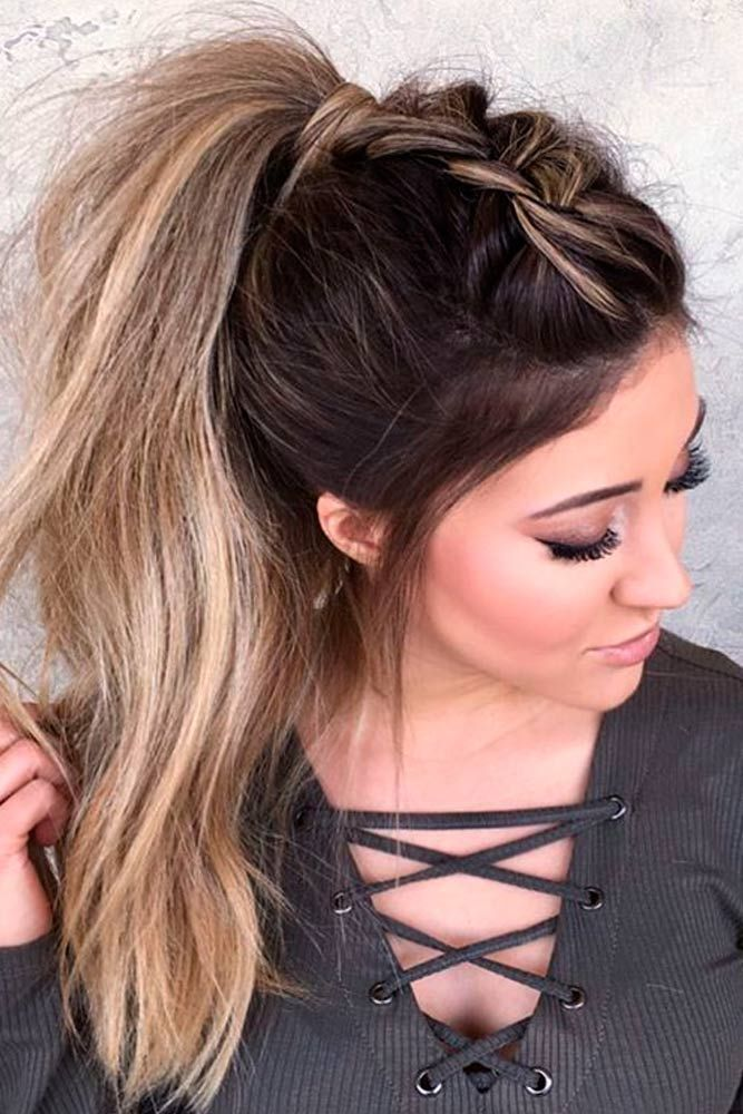 Best Super Cute and Cool Ponytail Hairstyles, Long Hair Styles Ideas