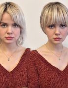 Long To Short Hairstyles Before and After, Women Short Haircut Ideas