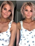 Messy Bob Hairstyles and Haircuts, Female Hairstyle for Short Hair