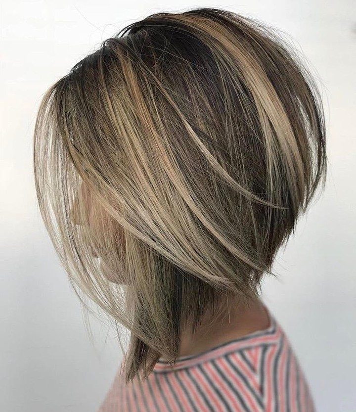 10 Creative Hair Color Ideas For Medium Length Hair Medium Haircut 2019