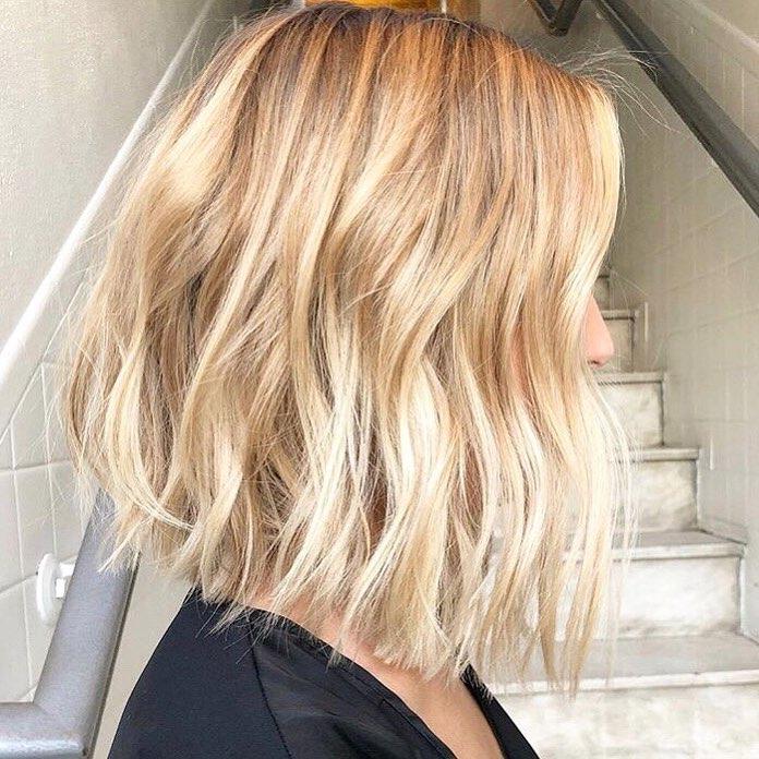 10 Trendy Choppy Lob Haircuts for Women, Best Medium Hair ...
