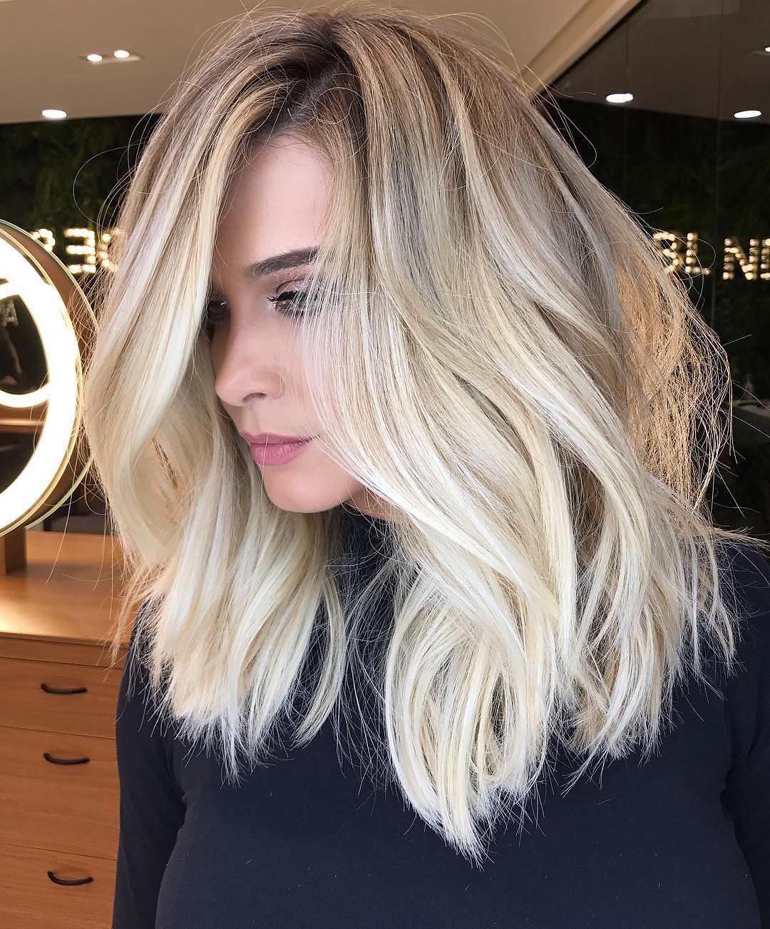 stylish ombre balayage hairstyles for shoulder length hair