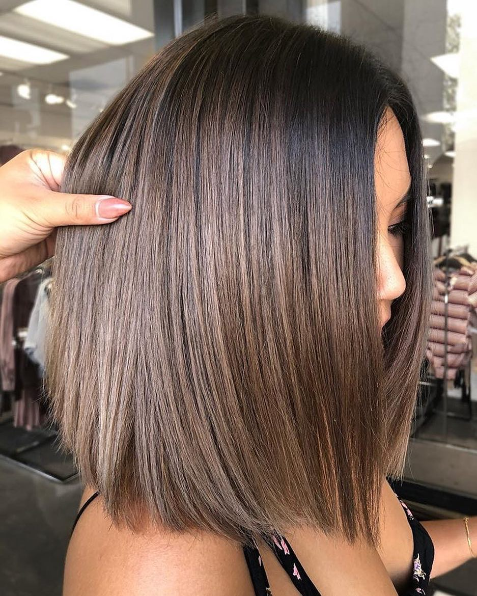 Stylish Ombre Balayage Hairstyles for Shoulder Length Hair ...