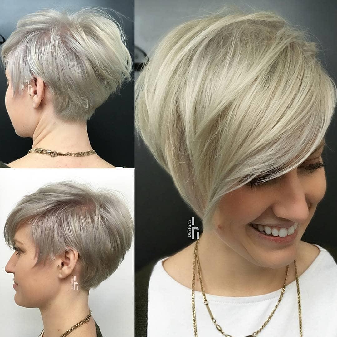Summer Hairstyle Ideas for Short Hair, Women Short Haircut