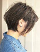 Cute Short Bob Haircut for female, New Haircut Ideas for Short Hair