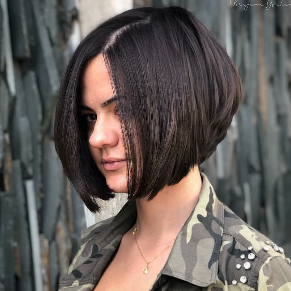 Cute Short Bob Haircut for female, New Haircut Ideas for Short Hair