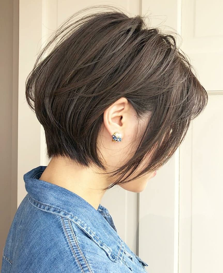 Ten Trendy Short Bob Haircuts For Female Best Short Hair