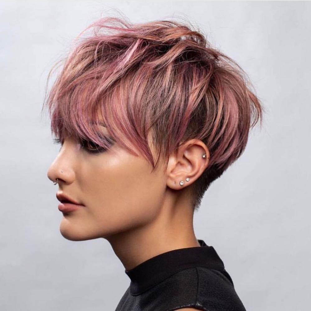 10 Short Hair Color For Female Fashion Fans Short