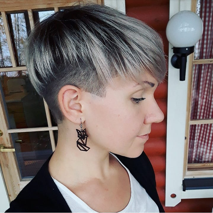 Short Hair Color Ideas for Female, Chic Short Haircut for 2019