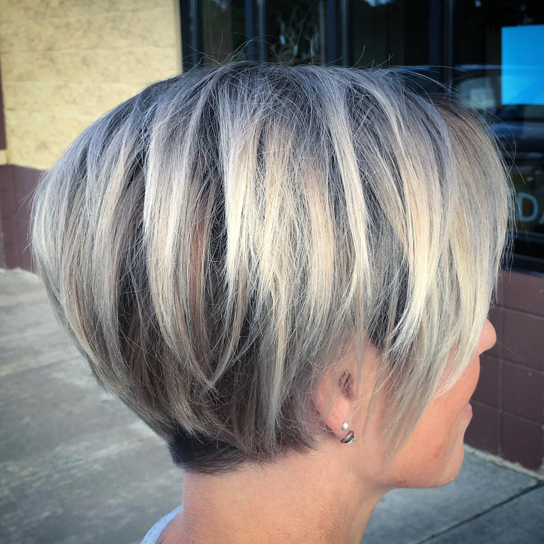 Short Hair Color Ideas For Female Chic Short Haircut For 2019 Popular Haircuts