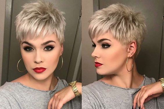 Stylish Short Hairstyles For Thick Hair Women Short Haircut