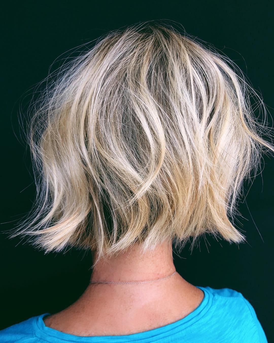 Short Hairstyles for Thick Hair, Women Short Haircut Ideas 2019