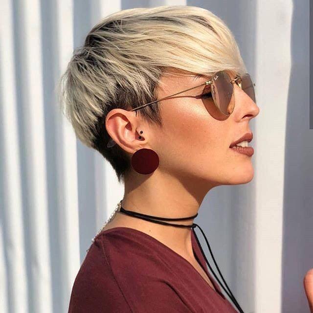 Stylish Short Hairstyles For Thick Hair Women Short Haircut Ideas 2020