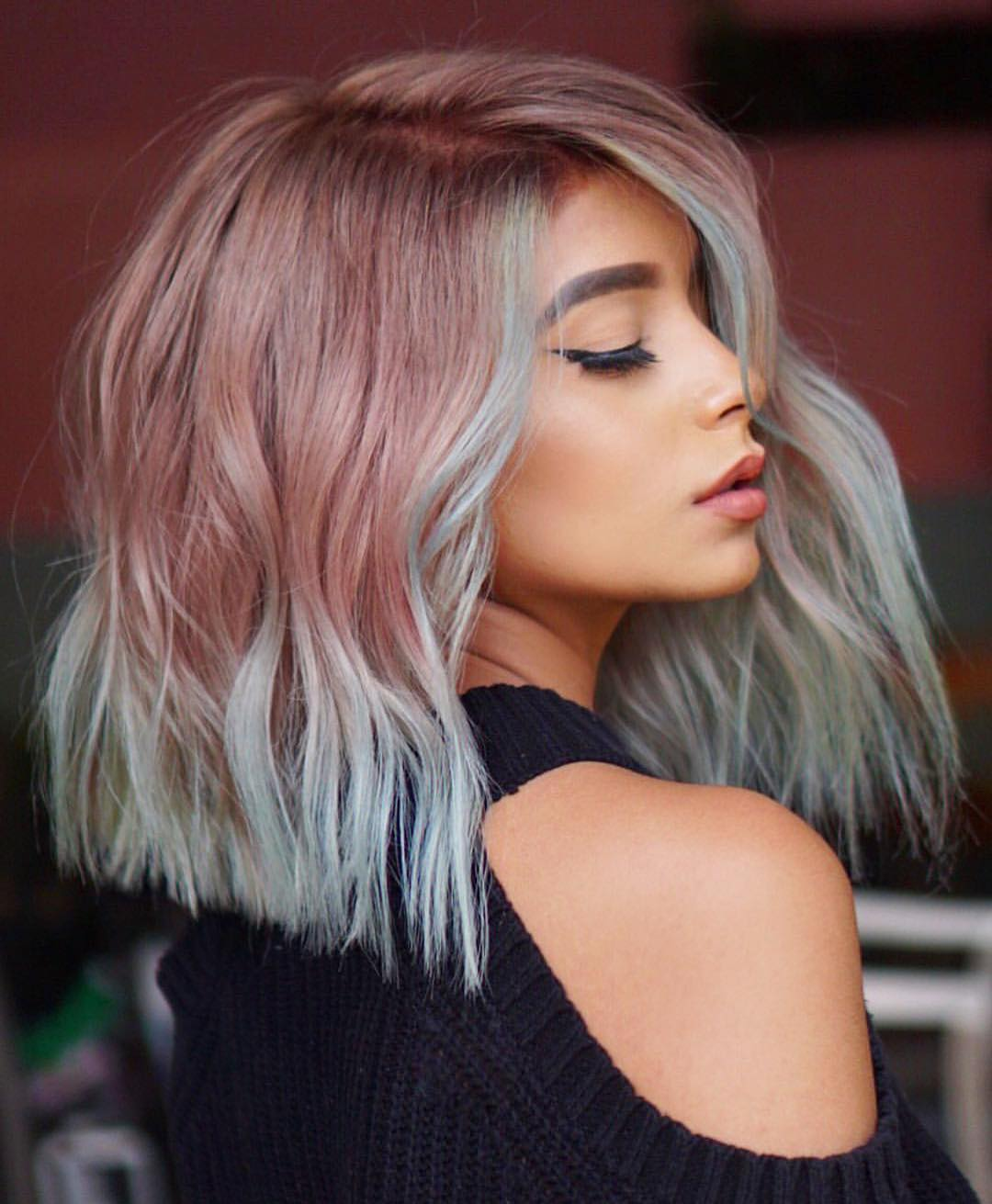 10 stylish lob hairstyle ideas, best shoulder length hair for women 2019