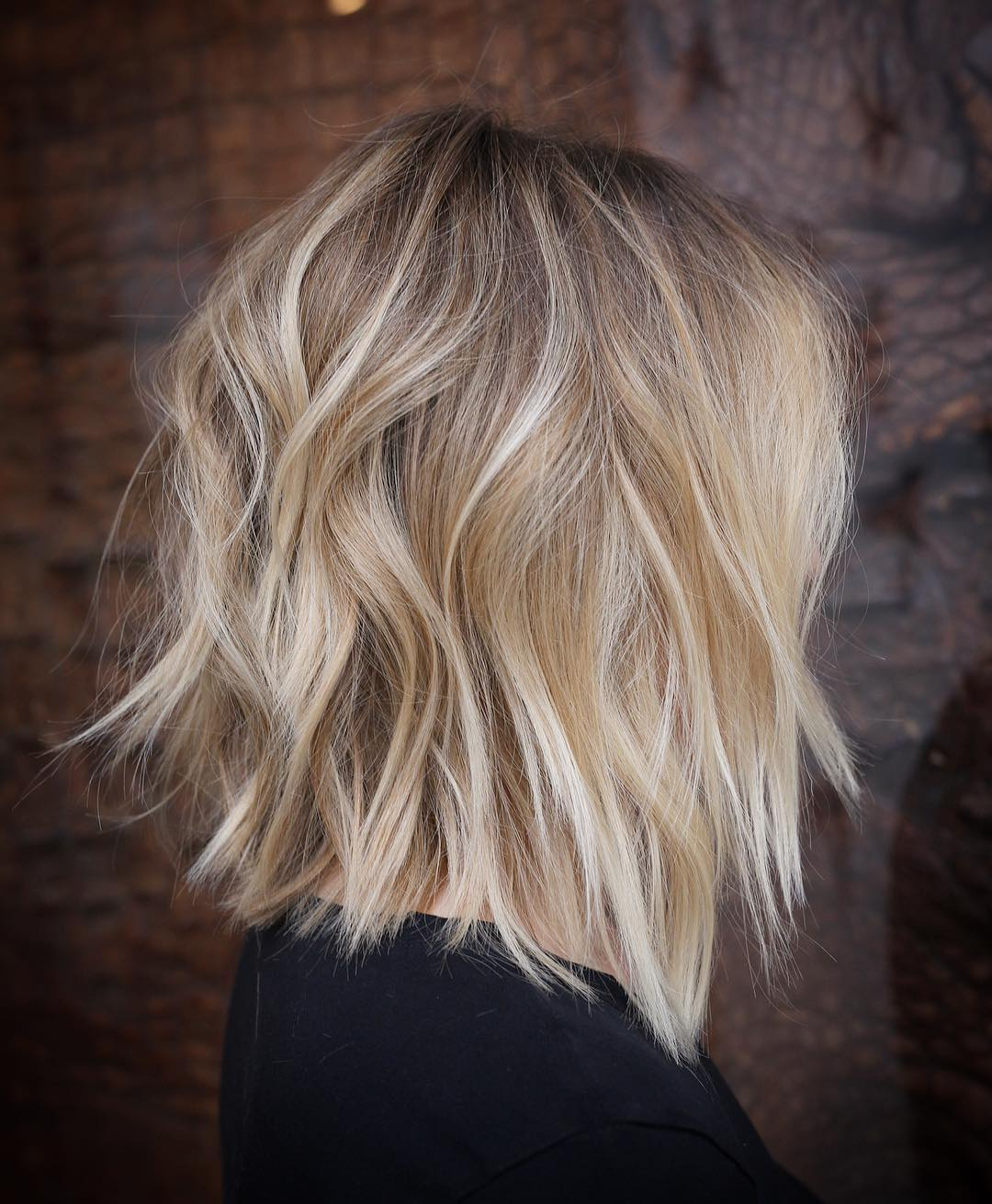 Stylish Lob Hairstyle, Best Shoulder Length Hair for Women 2019