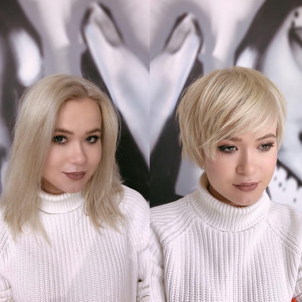 10 Terrific Short Haircuts With Bangs Female Short Hair