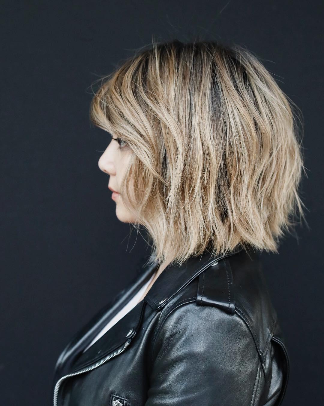 10 Easy Short Bob Haircuts for Thick Hair - Women Short ...