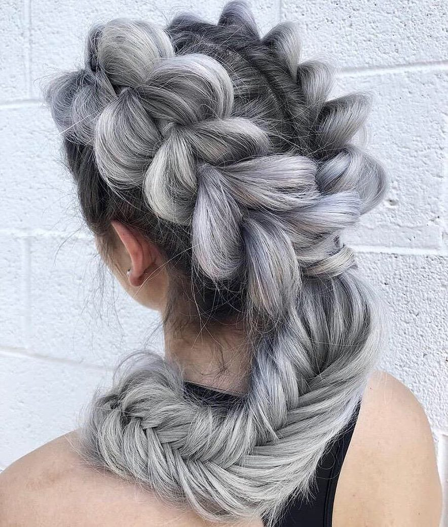 Amazing Braided Hairstyles, Braid Hairstyle Ideas for Medium & Long Hair