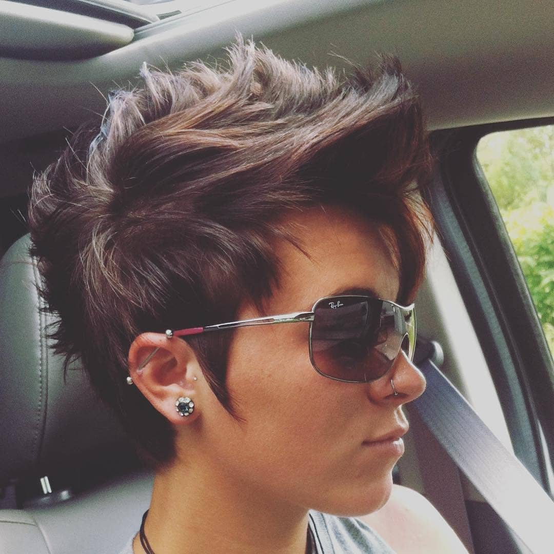 Messy Pixie Haircuts To Refresh Your Face Women Short