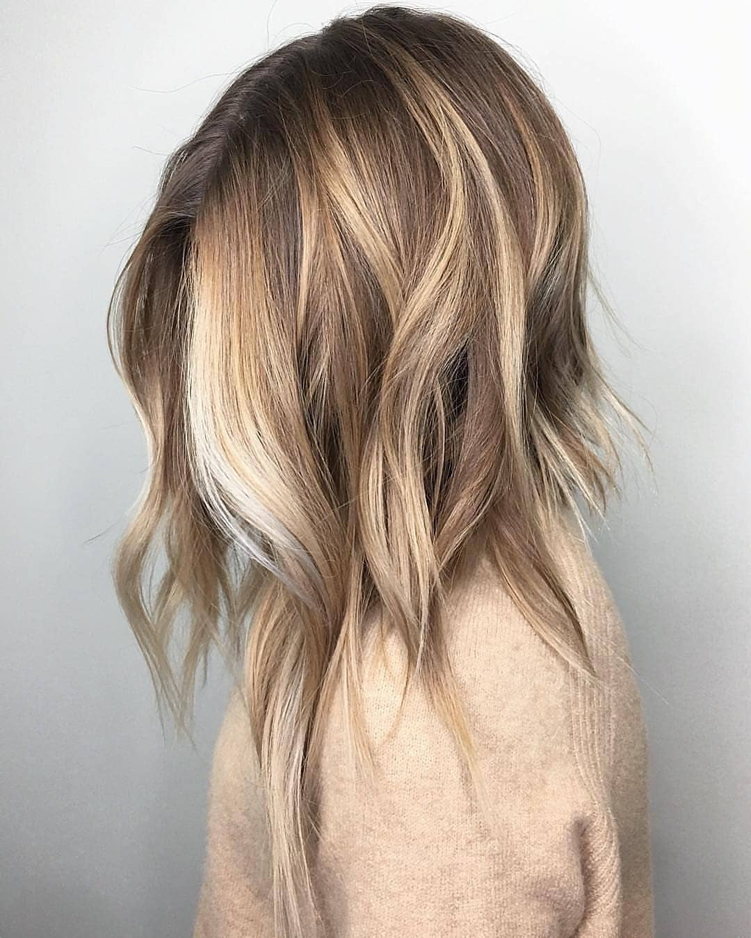 10 Medium To Long Hairstyles In Exciting Blonde Colors