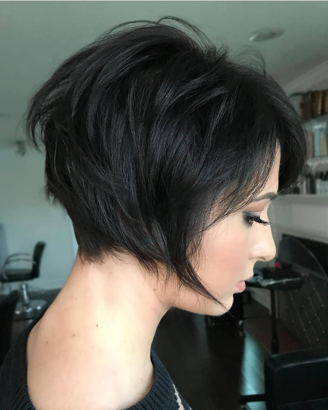 Modern Short Bob Haircut, Easy Short Hair Styles for Women, Girls