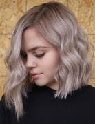 Simple Lob Hair Styles for Women, Shoulder Length Haircut with Thick Hair
