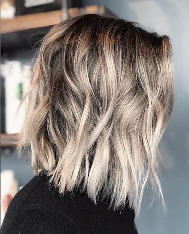 Simple Lob Hair Styles For Women Shoulder Length Haircut With Thick Hair Popular Haircuts
