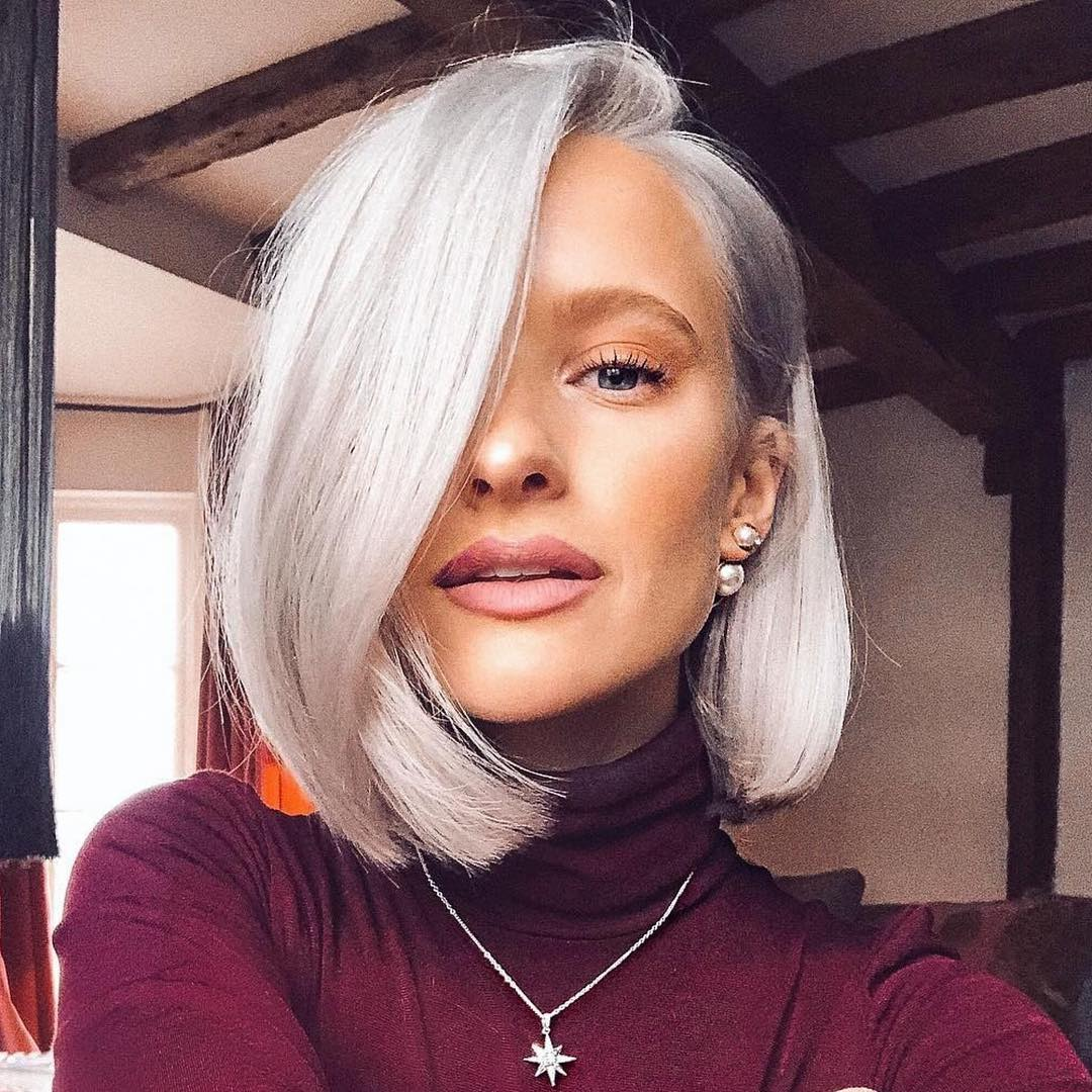 10 Simple Lob Hair Styles For Women Medium Haircut With