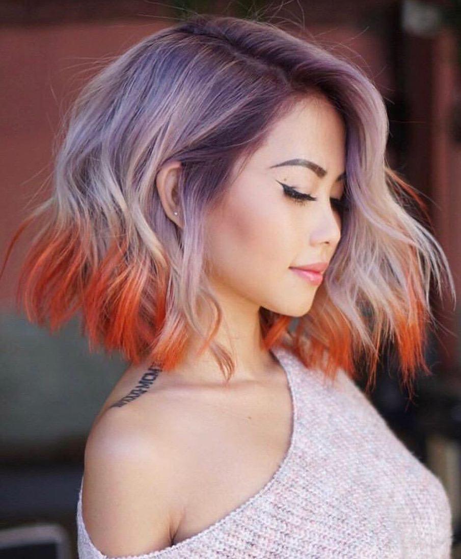 10 Simple Lob Hair Styles for Women - Medium Haircut with ...