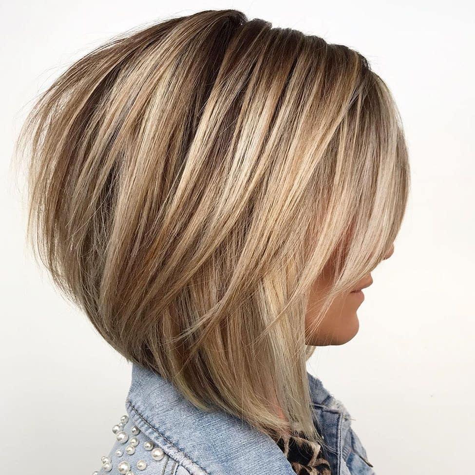 Simple Short Straight Bob Haircut