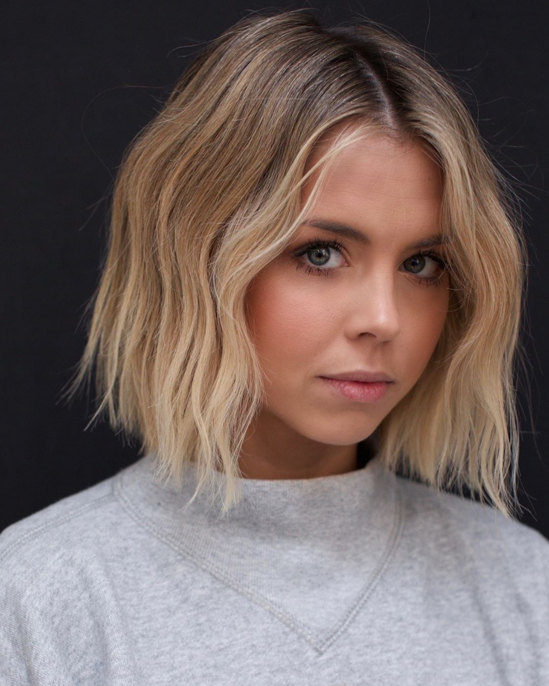 10 easy wavy bob hairstyles with balayage - 2019 female