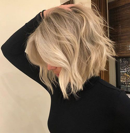 Shoulder Length Hairstyles For Fine Hair 2020 71