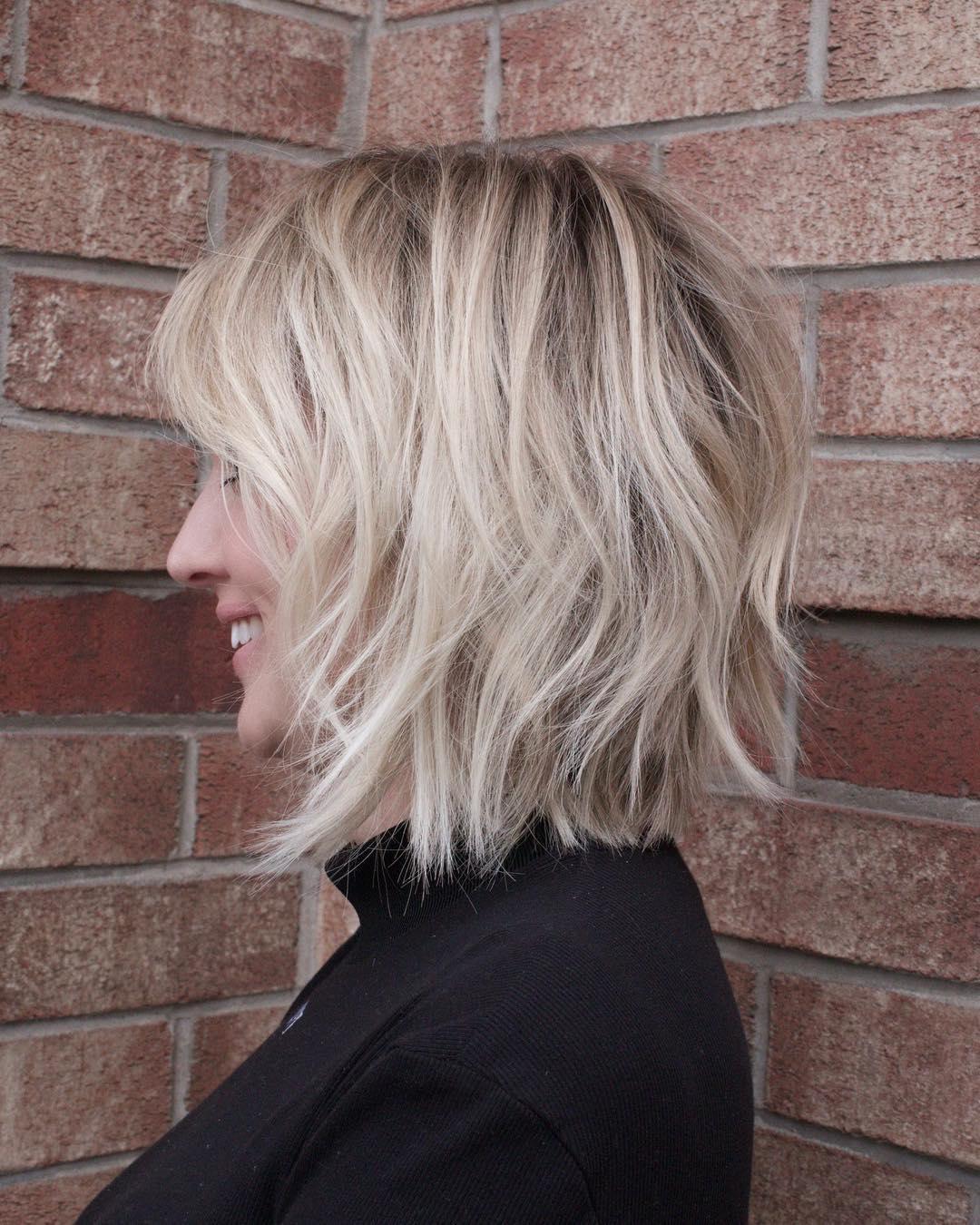 Pretty and Convenient Medium Bob Hair Cuts - Female Bob Hairstyles