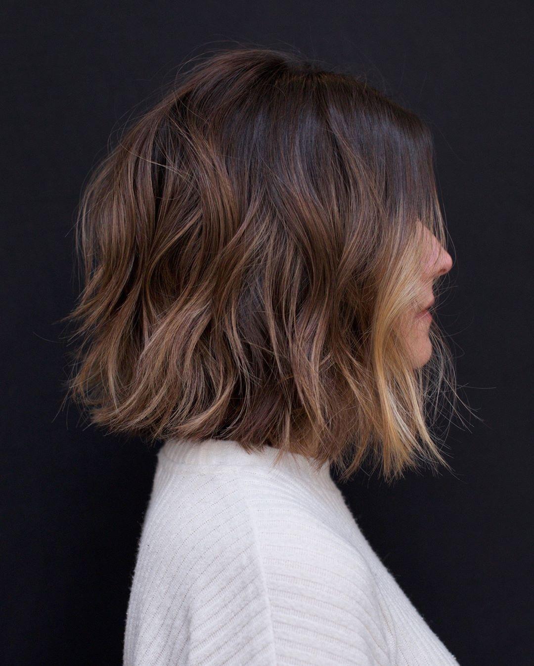 10 Casual Medium Bob Hair Cuts - Female Bob Hairstyles 2020
