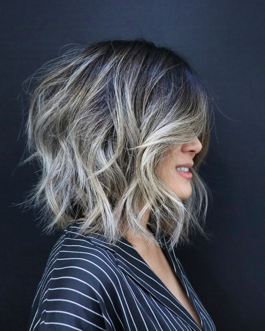 Shoulder Length Hairstyles For Fine Hair 2020 26