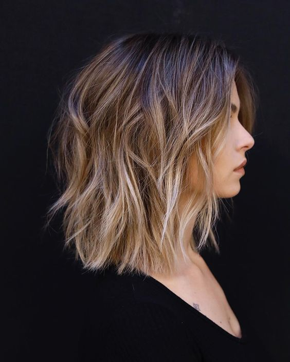 Shoulder Length Hairstyles For Fine Hair 2020 18