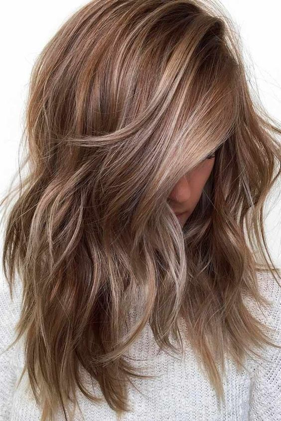 10 Flirty Light Brown Hair Looks , Women Hair Color Ideas 2020