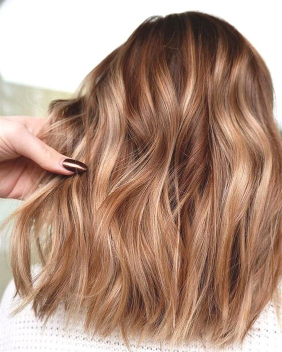 10 Flirty Light Brown Hair Looks Women Hair Color Ideas 2021