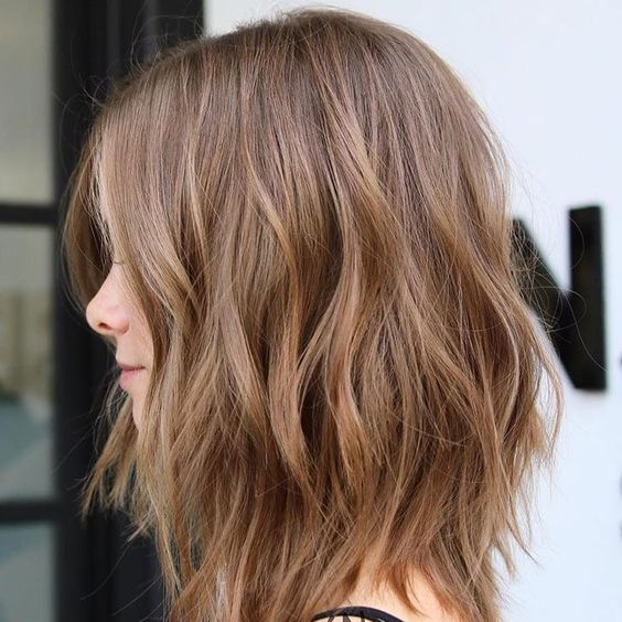 10 Flirty Light Brown Hair Looks Women Hair Color Ideas