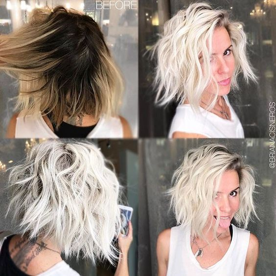 10 Messy Short Hairstyles For 2020 Carefree Amp Casual Trends